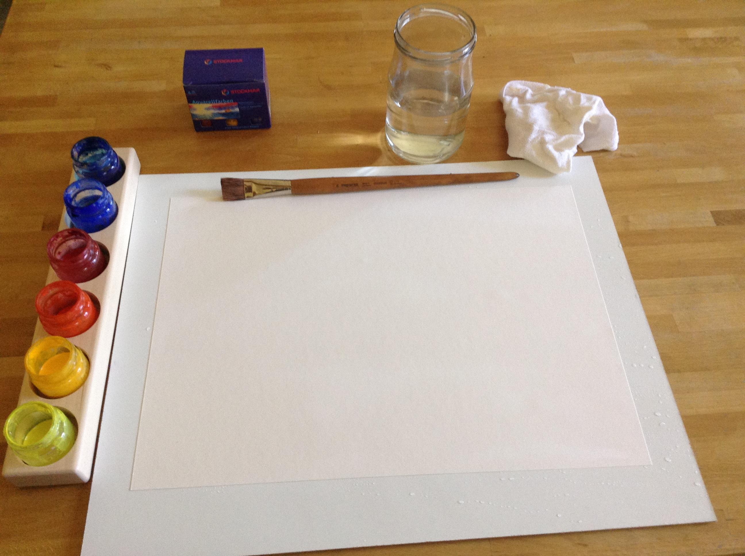 akvarelove malovani